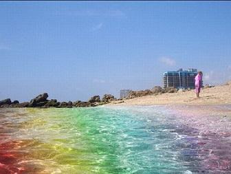 Необычные пляжи в мире